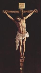 Crucifixion de Jesus de Zurbaran