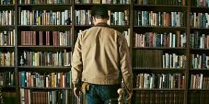 "Film ""Interstellar"" - Scène de la bibliothèque universelle"